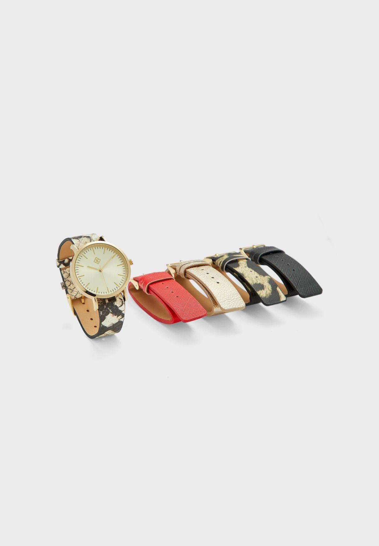 Kajam Multistrap Watch