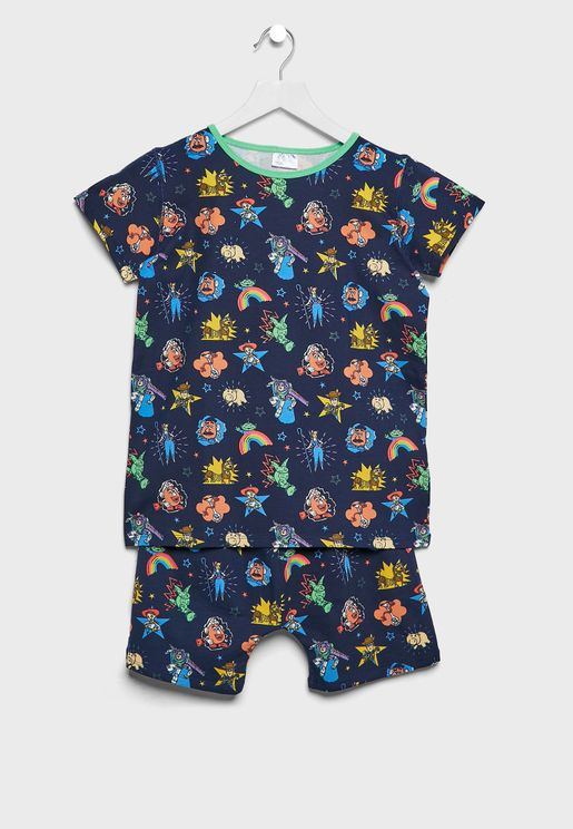 Kids Toy Story 4 Pyjama Set