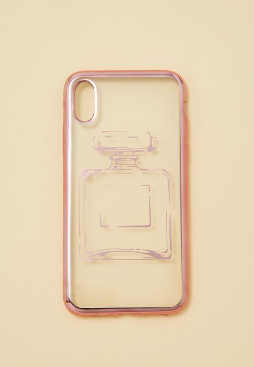 Perfume Bottle iPhone X Case