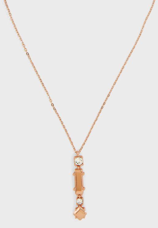 Saleena Starlet Stone Pendant Necklace