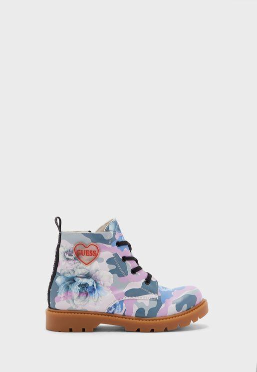 Kids Glitter Boot