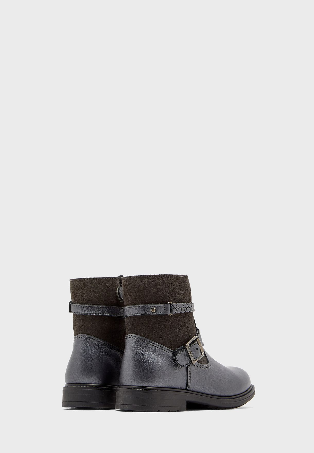Youth Buckle Detail Boot