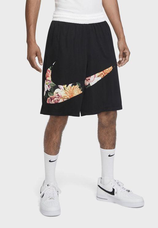 Floral Logo Shorts
