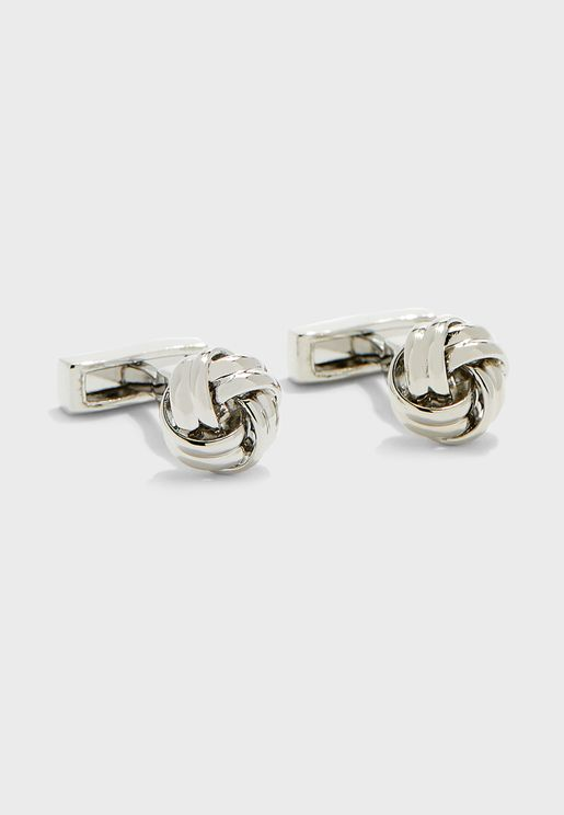 Metal Knot Cufflinks