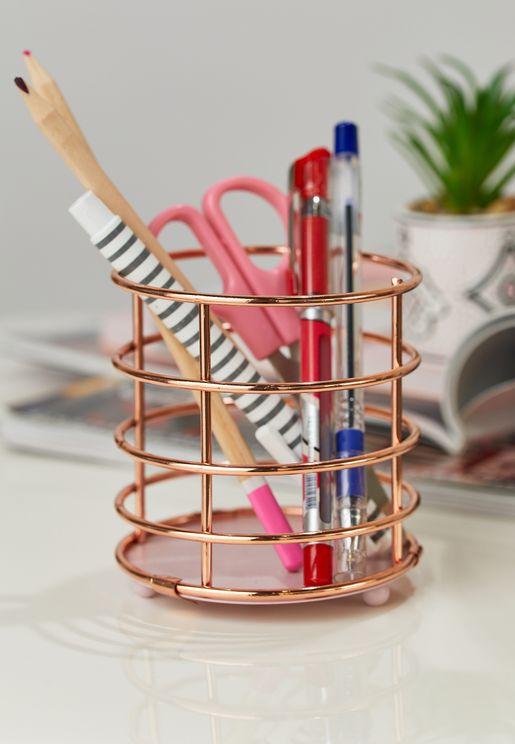 Wire Pen Pot
