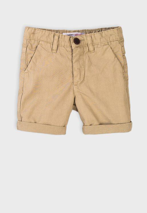 Infant Basic Chino Shorts