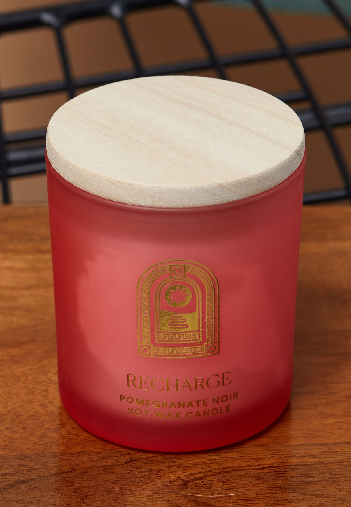 Pomegranate Noir Soy Wax Candle