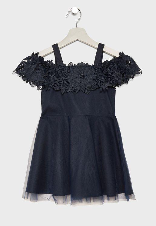 Little Nola Bardot Dress