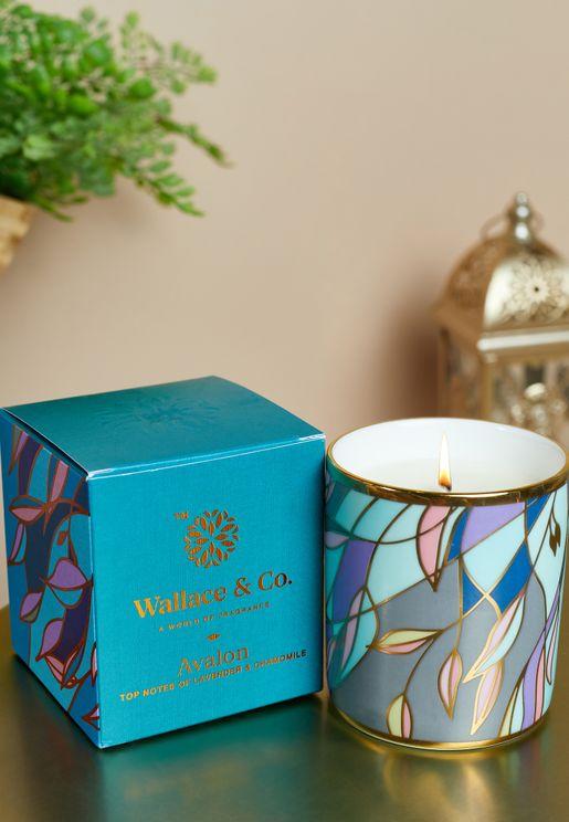 شمعة عطرية افالون باللافندر والبابونج- 200 مل