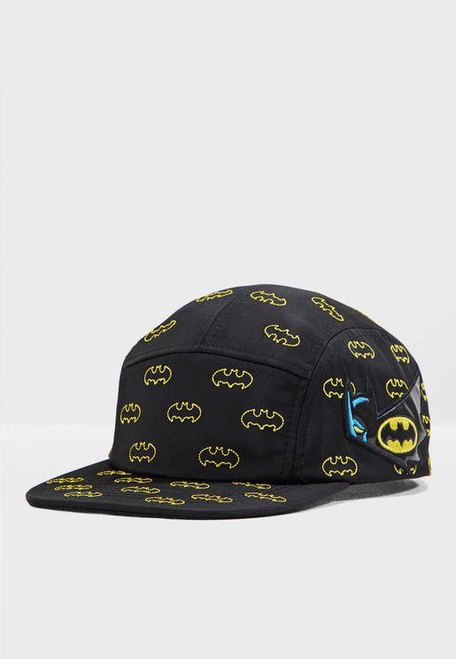 Kids Batman Logo Cap