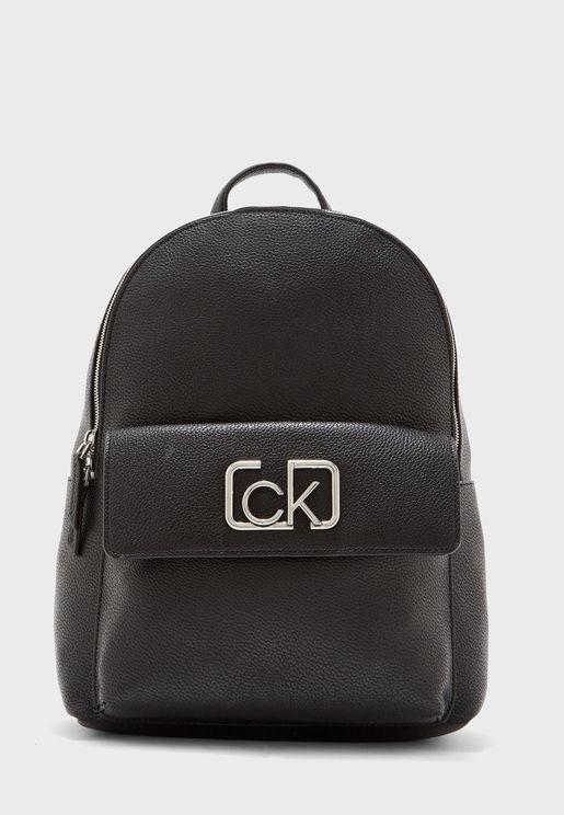 Front Pocket Detail Backpack