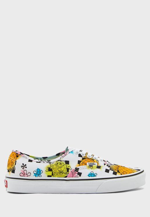 حذاء من مجموعة سبونج بوب