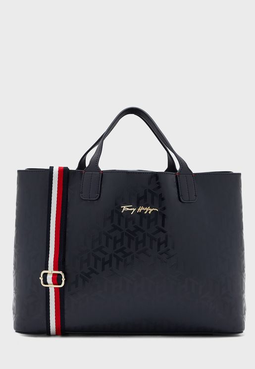 Iconic Zip Closure Satchel