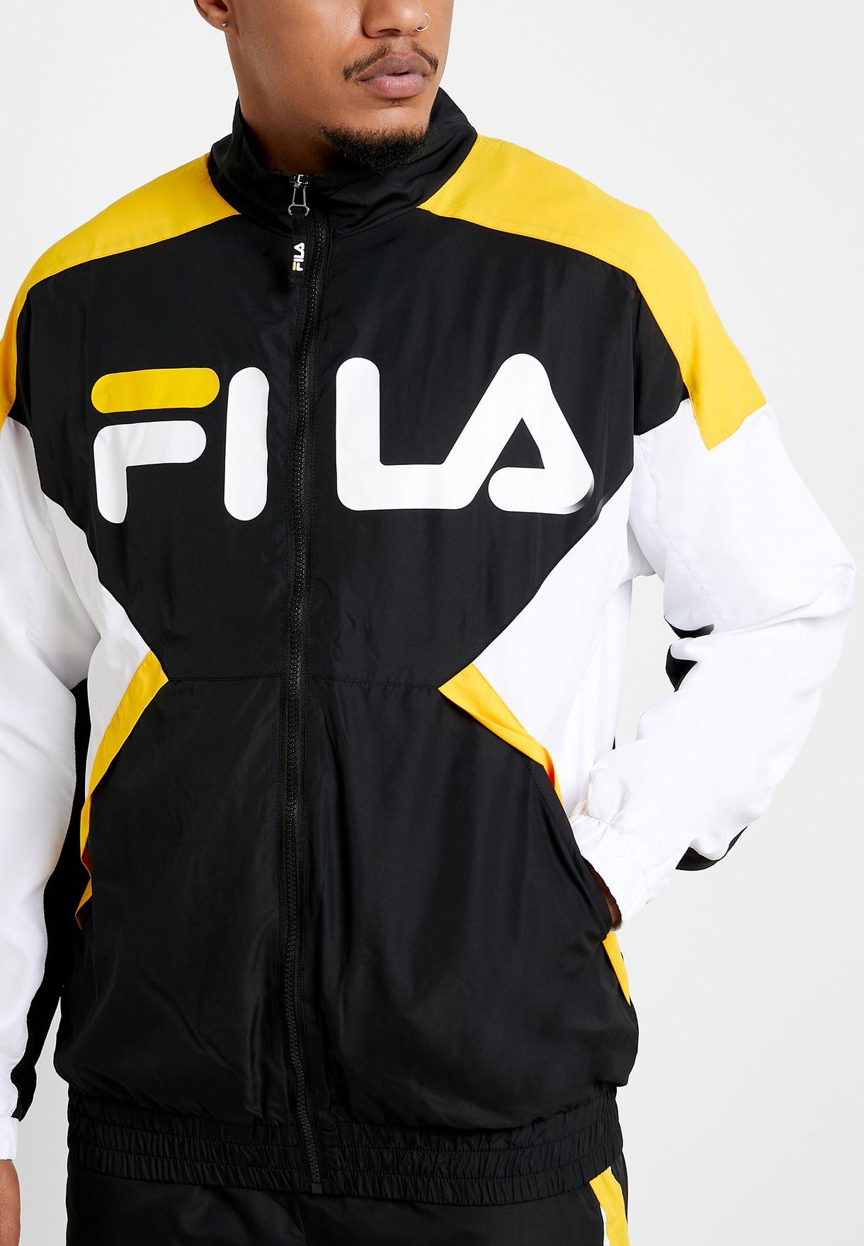 Oliviero Pongee Track Jacket