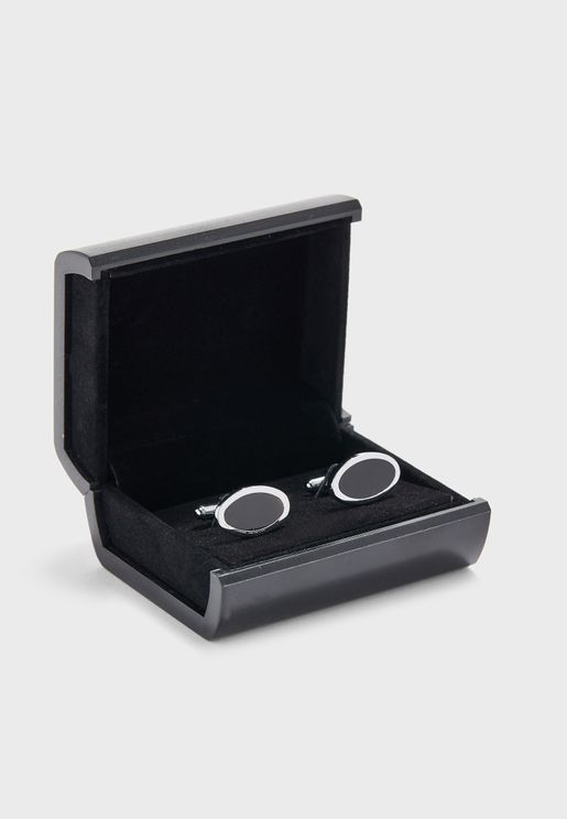 Formal Oval Cufflinks