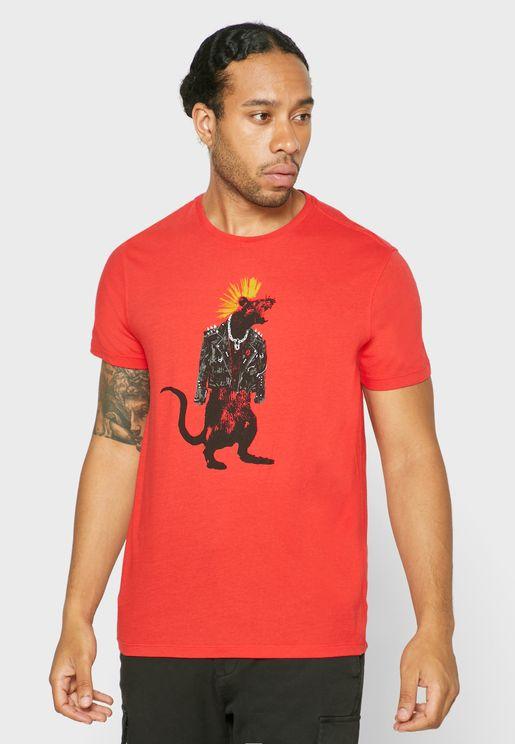 CNY Rat Crew Neck T-Shirt