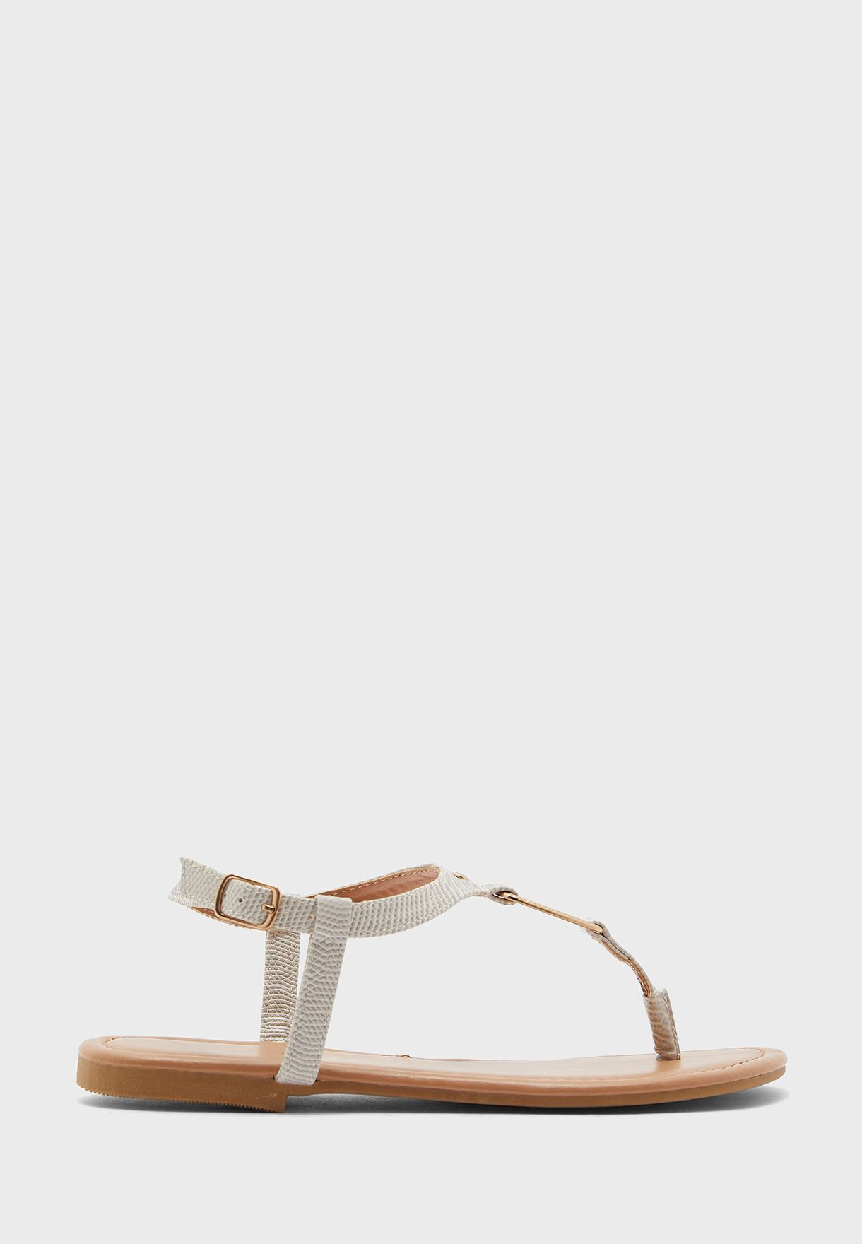 Casual Ankle Strap Flat Sandals