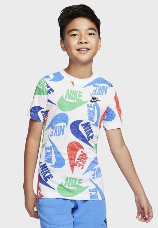 Youth NSW Marker Mash T-Shirt
