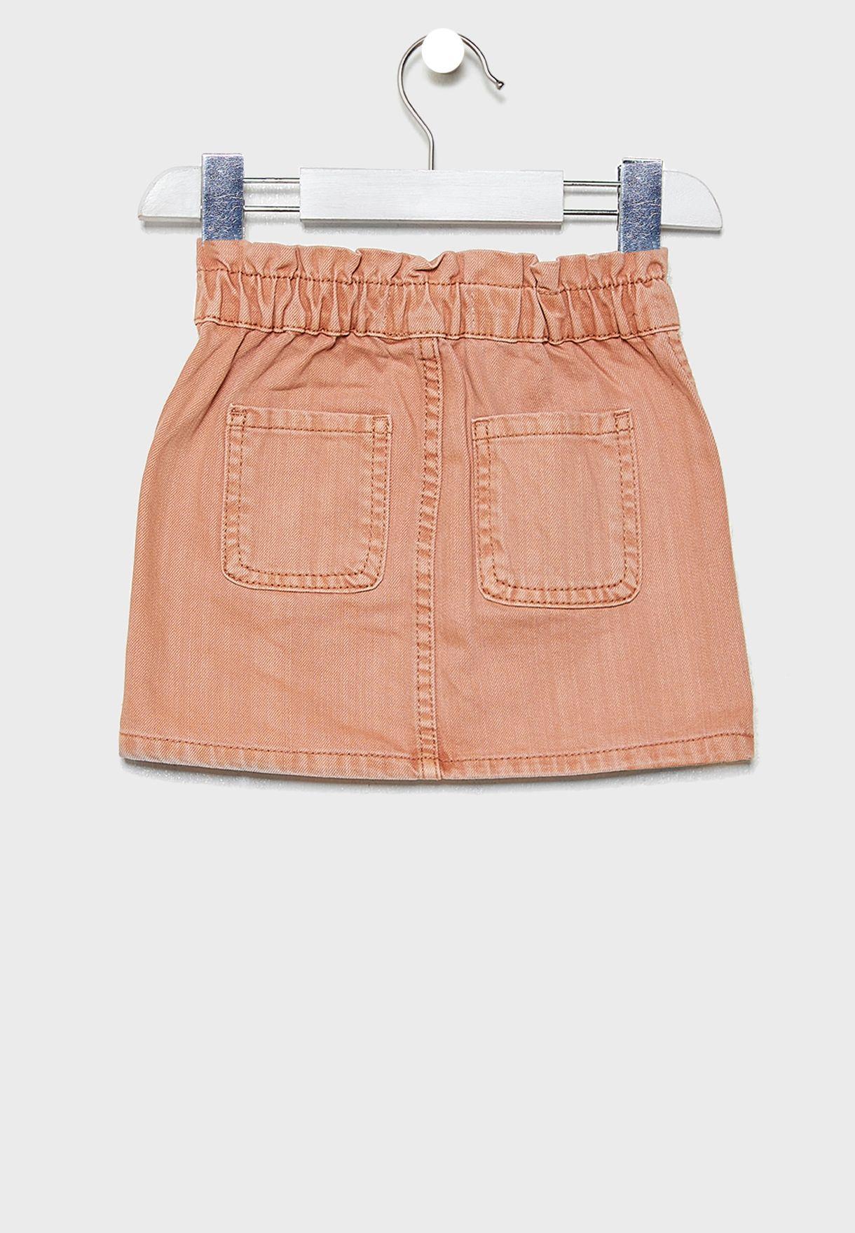 تنورة جينز بازرار