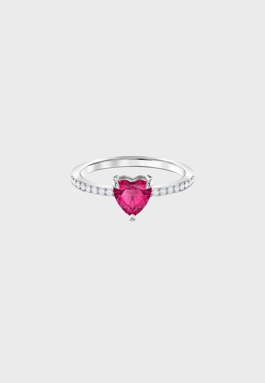 One Ruby Stone Ring