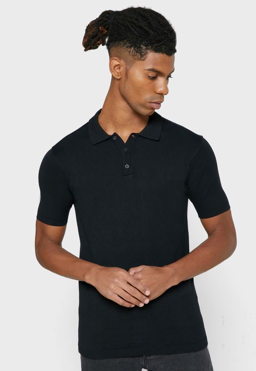 Essential Button Down Polo