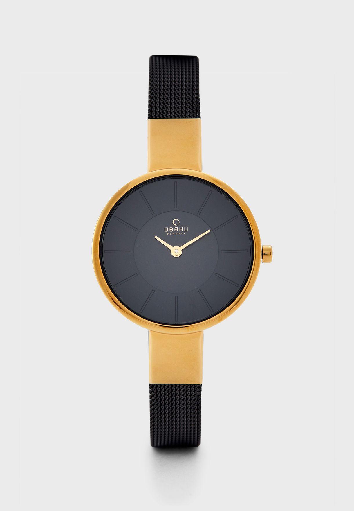 Sol Medallion Analog Watch