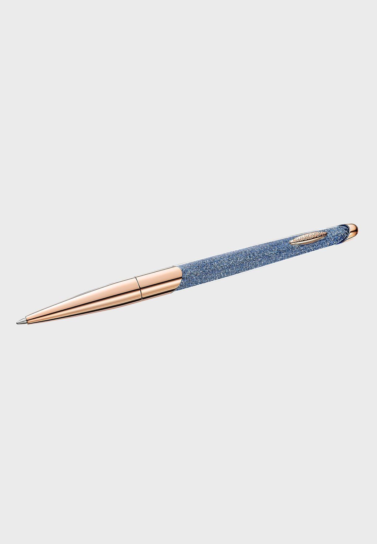 قلم حبر جاف مرصع بالكريستال