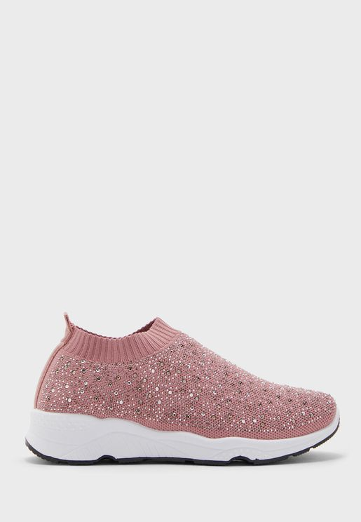 Speckled Slip Ons