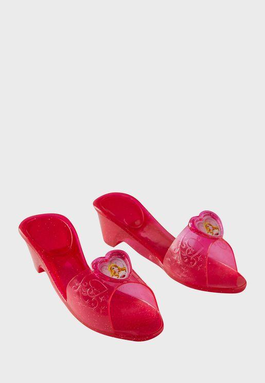 Kids Princess Jelly Shoes Sleeping Beauty