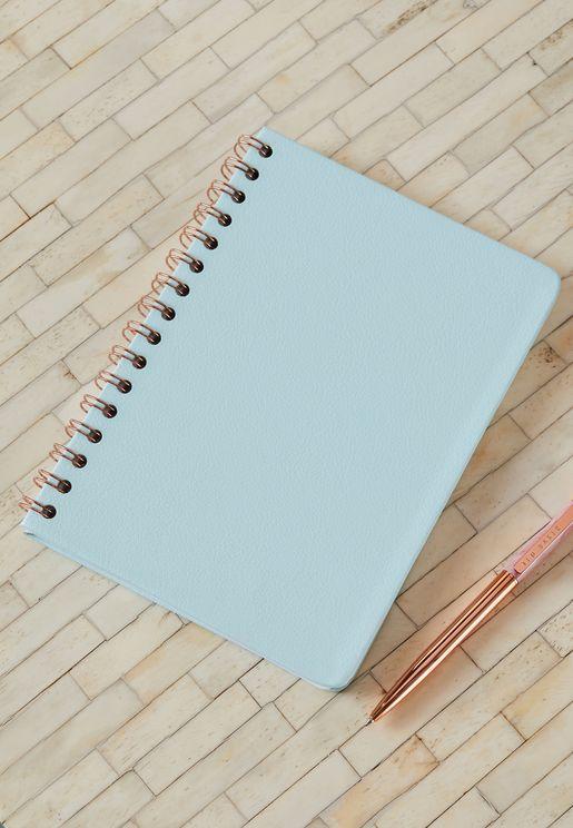 دفتر ملاحظات A5 جلد اصلي