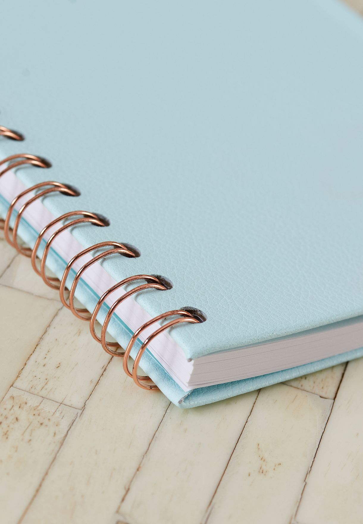 A5 Mint Spiral Notebook