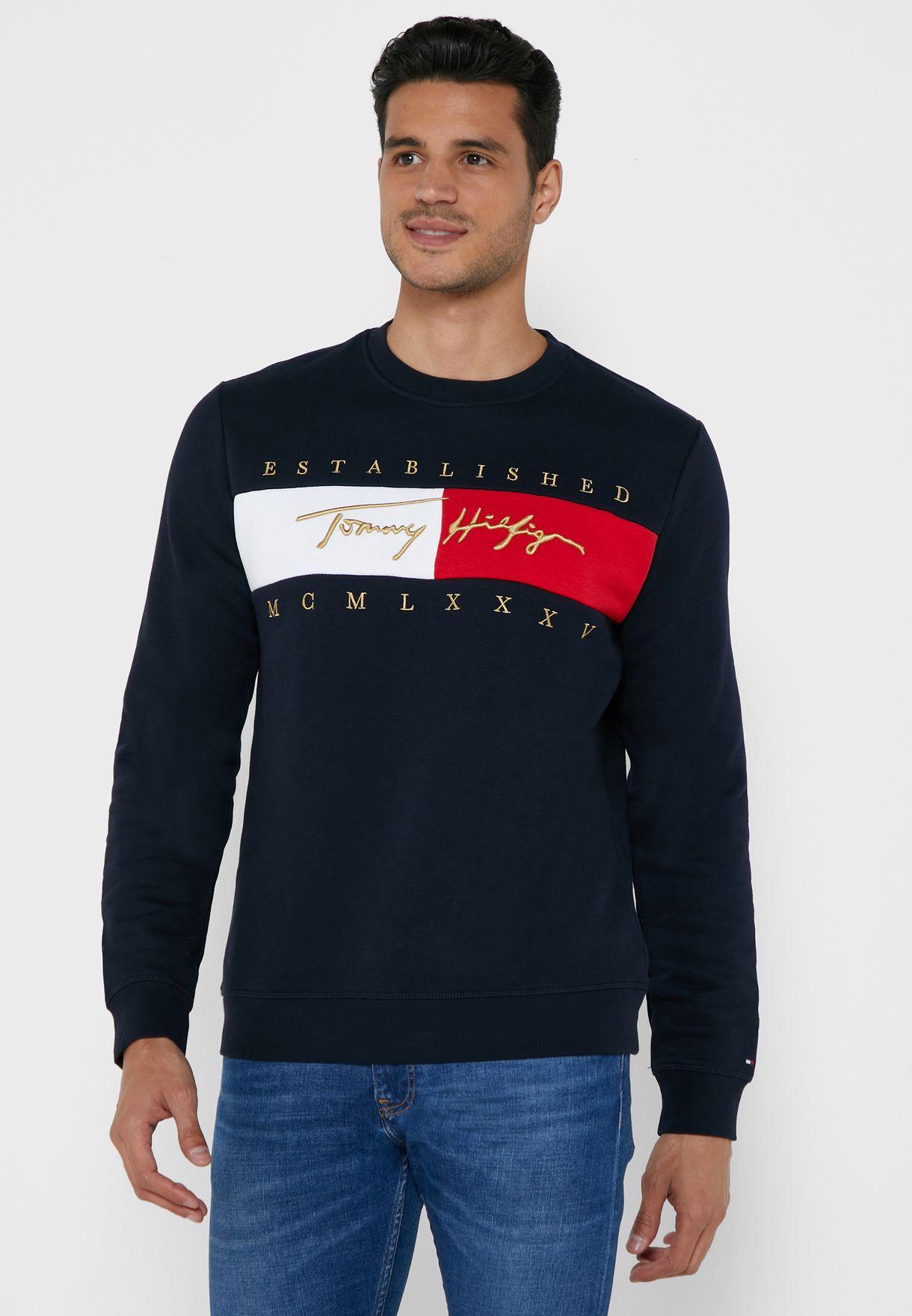 Signature Flag Sweatshirt