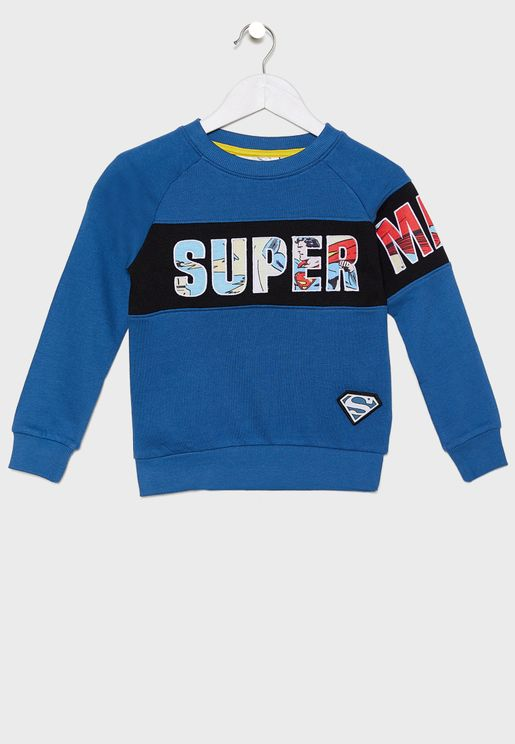 Kids Superman Sweatshirt