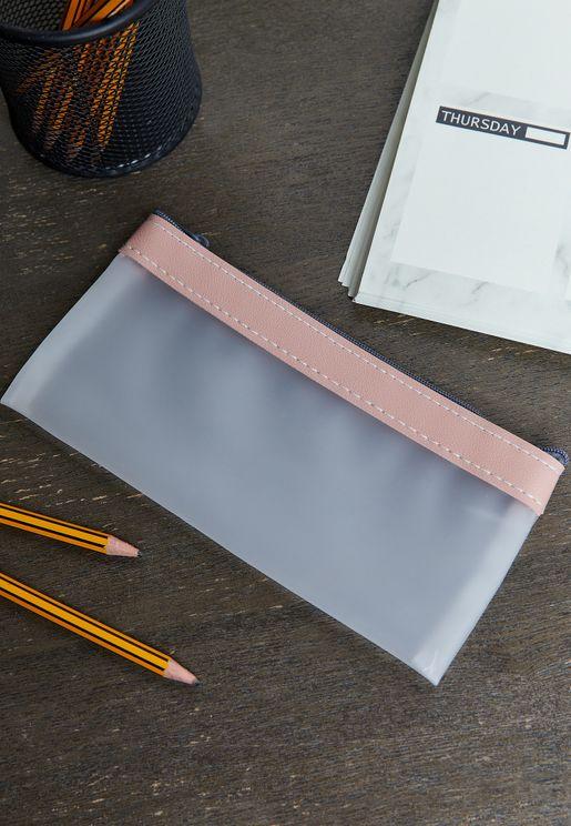Transparent Pencil Case