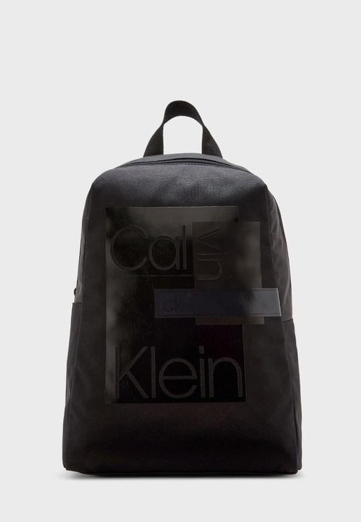 Layered Round Backpack