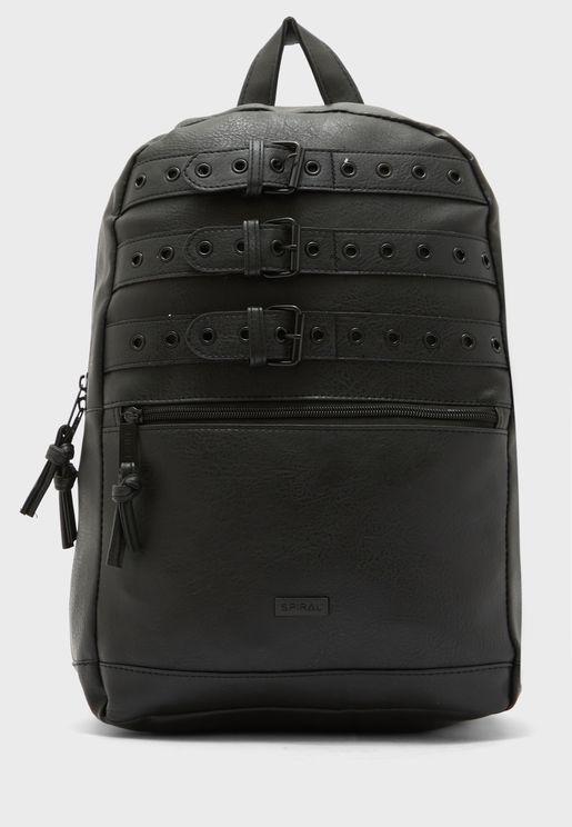 Triple Belt Backpack