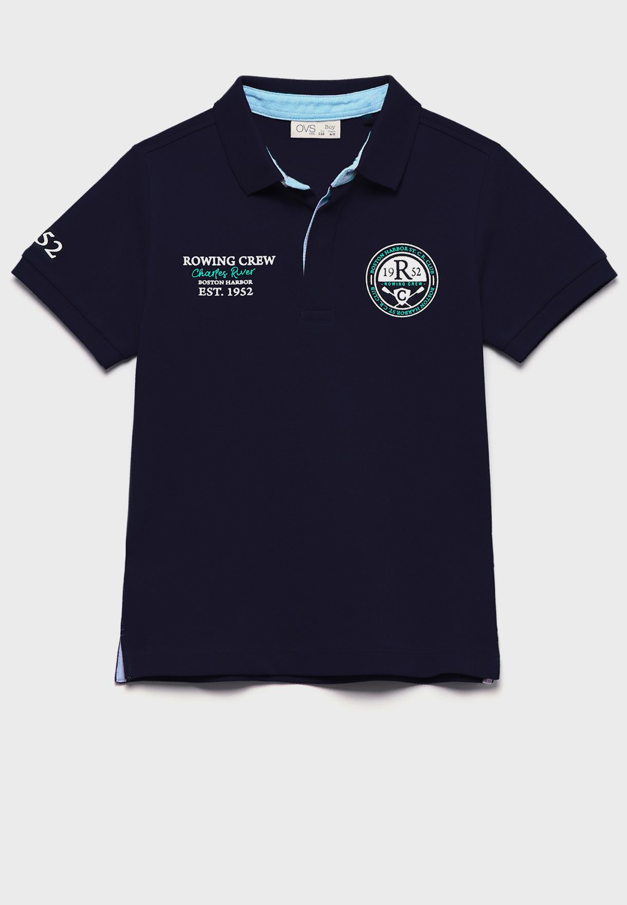 Kids Embroidered Polo