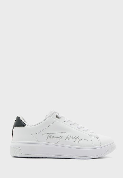 Leather Cupsole Low Top Sneaker