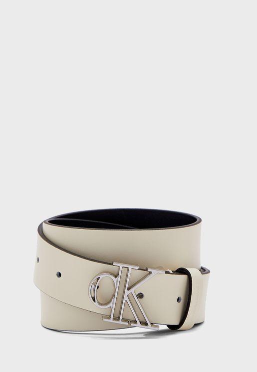 Outline Mono Plaque Belt