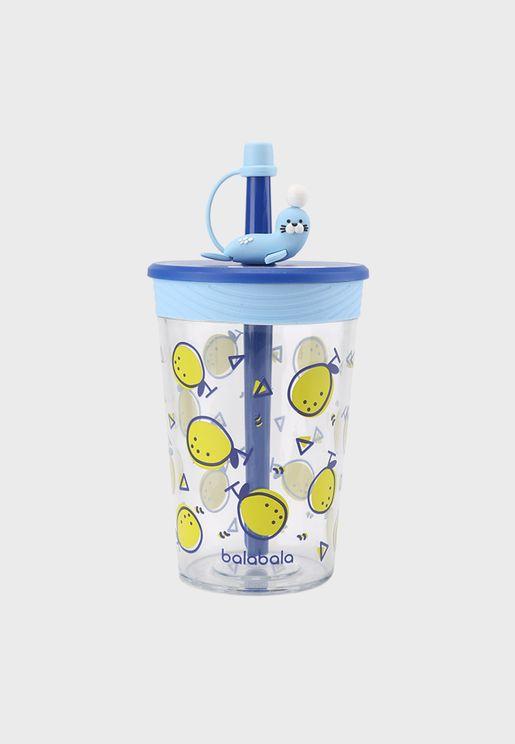 كوب مياه مطبع للاطفال