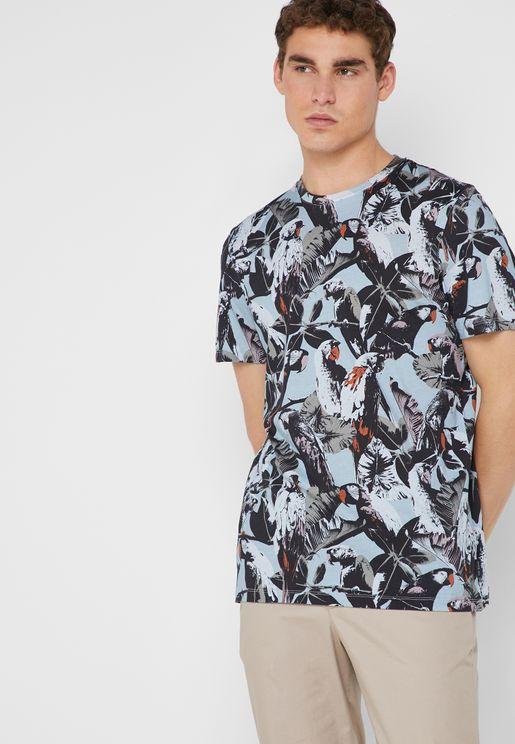 Beakme Crew Neck T-Shirt