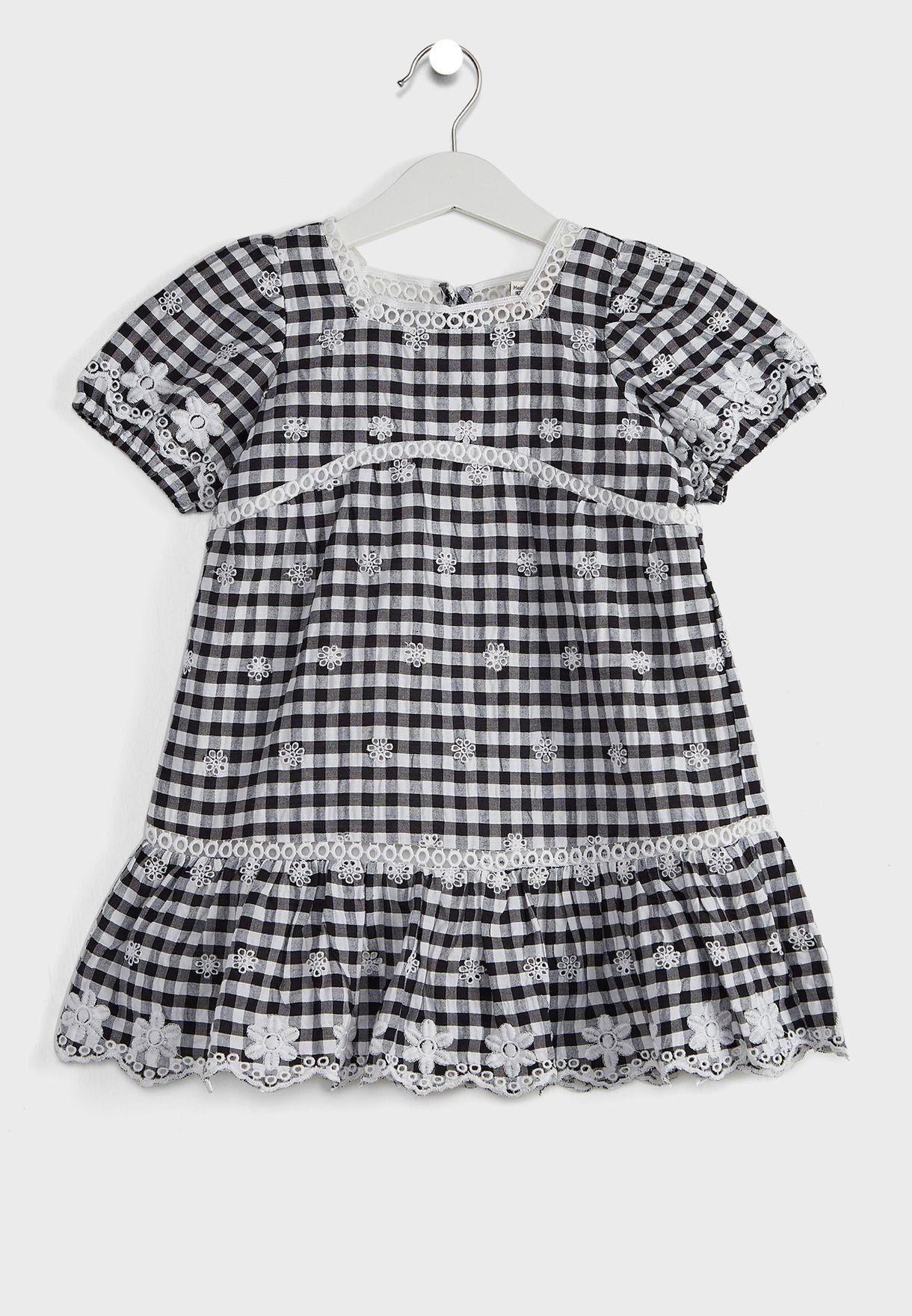 Kids Checked Dress