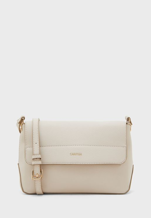 Flap Over Belted Crossbody