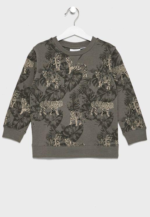 Kids Tiger Sweatshirt