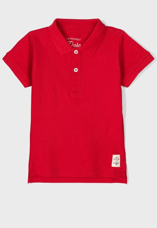 Infant  Logo Polo
