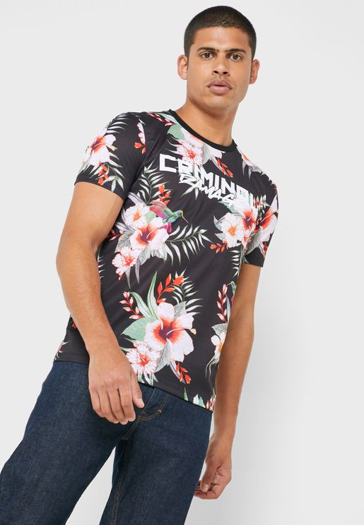 Tyrell Floral Printed T-Shirt
