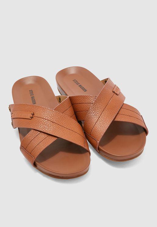 Bali Cross Strap Sandals