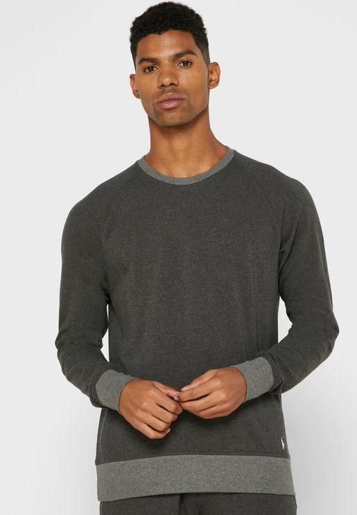 Contrast Edge Sweatshirt