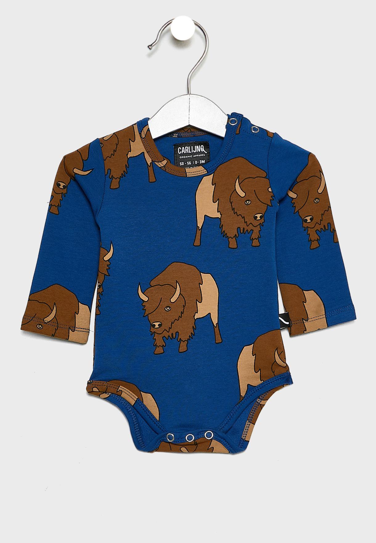 Kids Bison Bodysuit