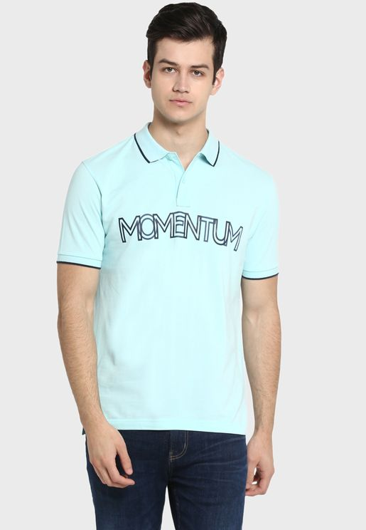 Momentum Tipped Polo